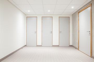 doors from toilets