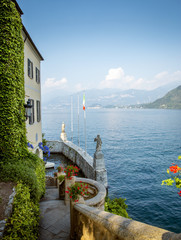 View on Como Lake in Italy
