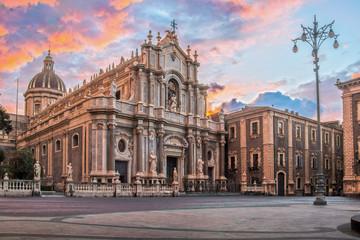 Duomo di Catania in HDR Fototapete