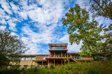 The Visitor Center at Lake Norman State Park, North Carolina.
