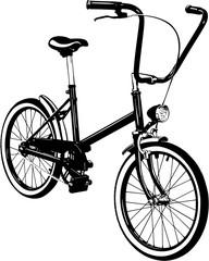 Bicycle. Bike icon vector.