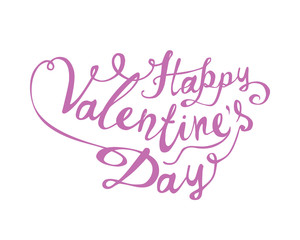 Happy Valentine's Day. Vector