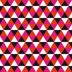 Ñolorful mural geometric pattern