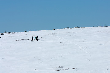 Ski en Lozère