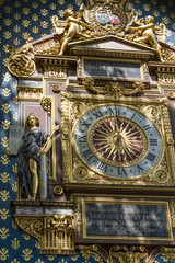 The clock of Henri de Vic in 1370. Paris
