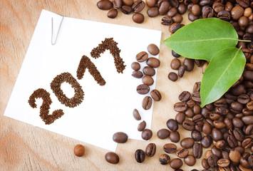Coffee new year 2017