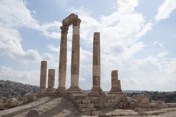 Amman Citadel ruins