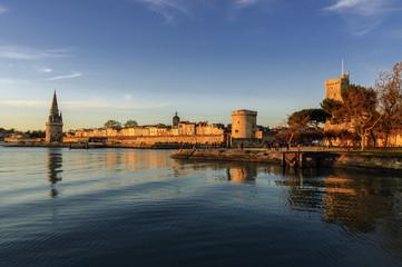 Entrada al Puerto Viejo de la Rochelle