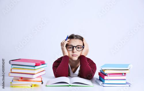 pile of books teen - photo #34