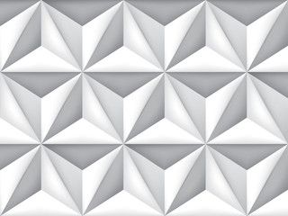 Vector triangles retro background, mesh gradient, geometric wallpaper, gray pattern