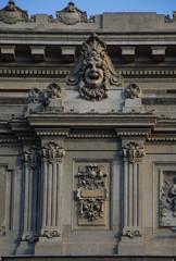 Teatro Colon, facade detail