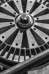 Pulley Wheel Abstract