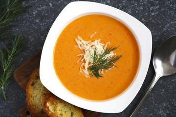 Tomato soup. Zuppa di Pomodoro