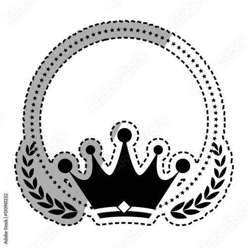 """Crown royal symbol icon vector illustration graphic ..."