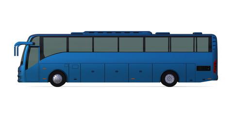 Blue Travel Bus