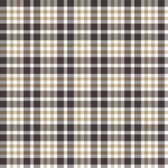 Textured plaid, seamless vector pattern