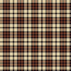 Tartan, plaid seamless pattern. Textured plaid
