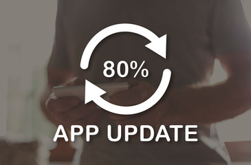Concept of application update