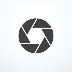 Vector shutter icon