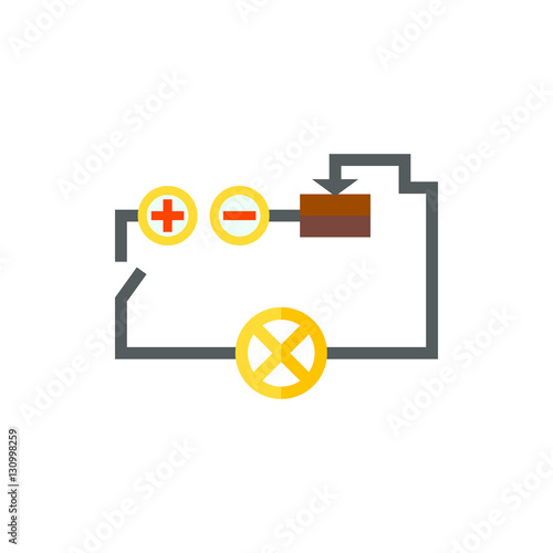 """Electrical circuit icon"" Stockfotos und lizenzfreie ..."