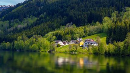 Wohnen am See Landschaft