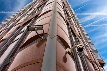 Kamera Videoüberwachung am Gebäude