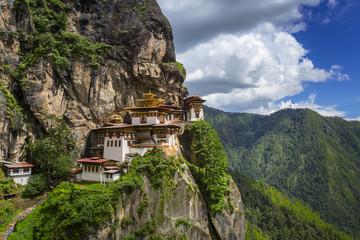 Tiger nest monastery, Taktshang Goemba, Bhutan, Dragon Land