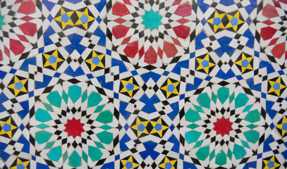 ceramic tile pattern background.