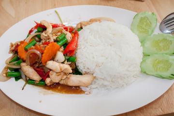 Thaifood - Paneng Gai