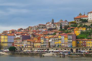 City view of Porto and the Douro river, Porto, Portugal.