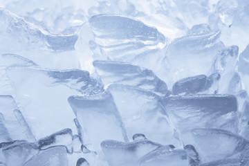 Fontana ghiacciata in Inverno, texture di ghiaccio