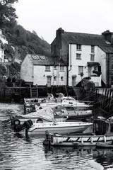 Fishing Village Cornwall,England