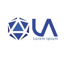 LA Logo Design Concept
