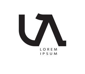 LA Logo Design