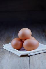 Fresh egg.