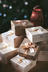 New Year's gifts, souvenirs in the box