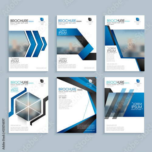 Creative Business Brochure Set Corporate Template Layout