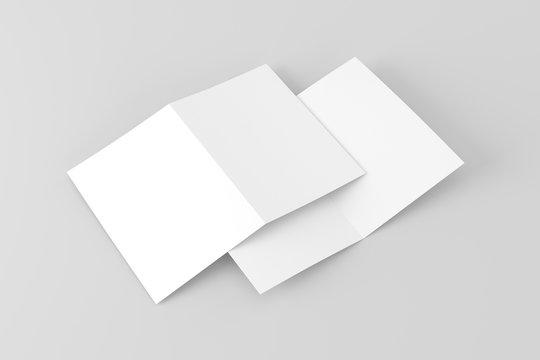 A5 / A4 Bifold White Blank Paper