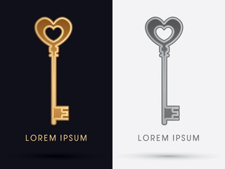 Luxury Key graphic vector