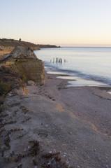 Jetty Ruins - Port Willunga, South Australia - Golden Hour - Portrait Orientation