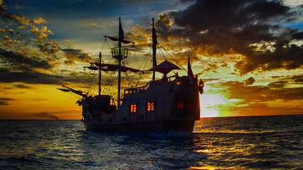 The last Pirate Ship