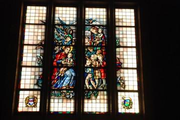 Vitraux de la Basilique du Sacré-Cœur de Koekelberg (Bruxelles)