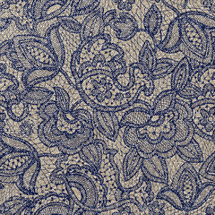Lace floral pattern. Light contour backdrop for web, cards, wrapping paper