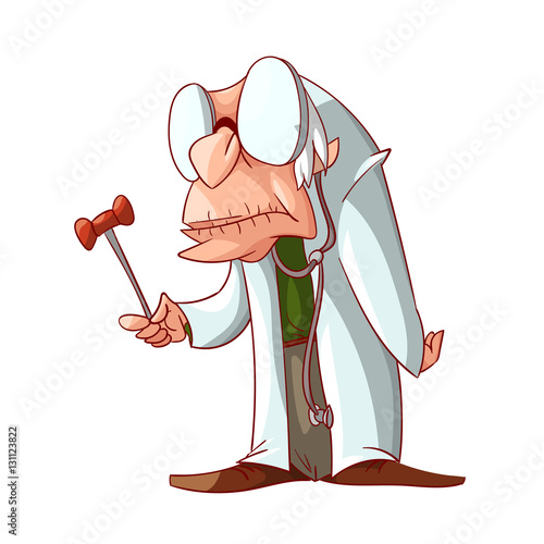 evil cartoon scientist - 450×470
