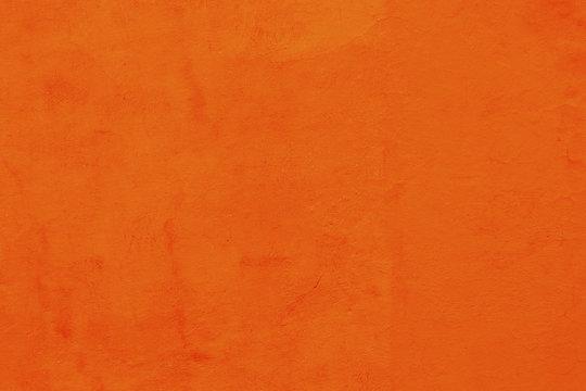 Bright Orange Wall San Miguel de Allende Mexico