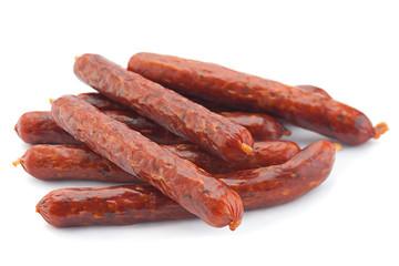 Small smoked sausage
