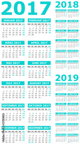Календарь благоприятных дней 2017-2018 года