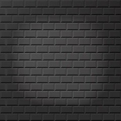 Grey brick wall seamless Vector illustration background - texture pattern for continuous replicate. Stock vector. Flat design.
