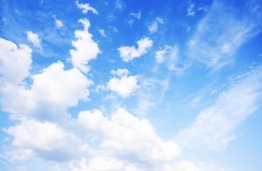 Blue sky background photo