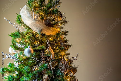Quot two tone christmas tree stock photo and royalty free